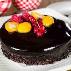 Gluten- en lactosevrije taart