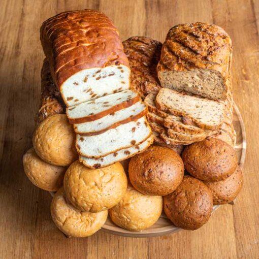 glutenvrij en lactosevrij brood pakket